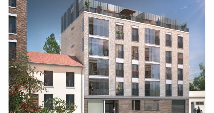 Achat / Vente immobilier neuf Asnières-sur-Seine proche quais de Seine (92600) - Réf. 1255