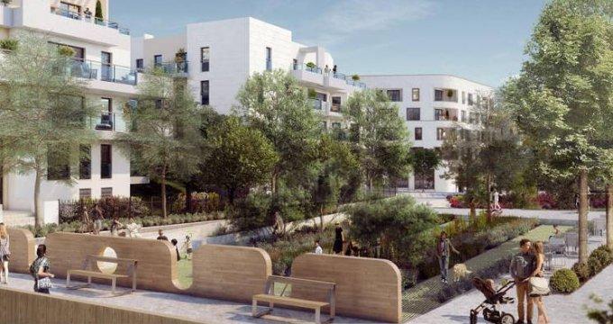 Achat / Vente immobilier neuf Châtenay-Malabry en bordure du Parc de Sceaux (92290) - Réf. 3123