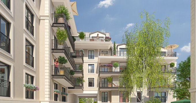 Achat / Vente immobilier neuf Clamart proche Paris (92140) - Réf. 1882