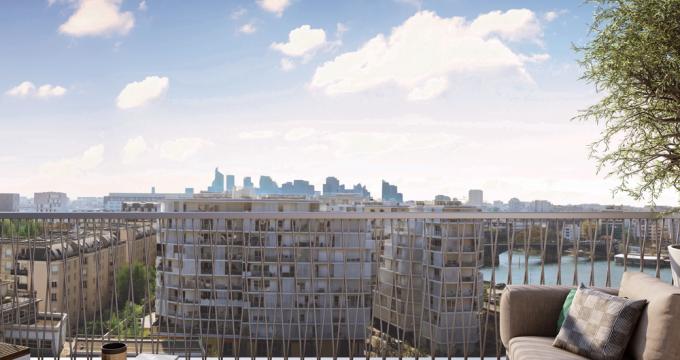 Achat / Vente immobilier neuf Clichy à 800 mètres de la ligne13 du métro (92110) - Réf. 3359