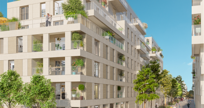 Achat / Vente immobilier neuf Clichy proche RER C (92110) - Réf. 3343