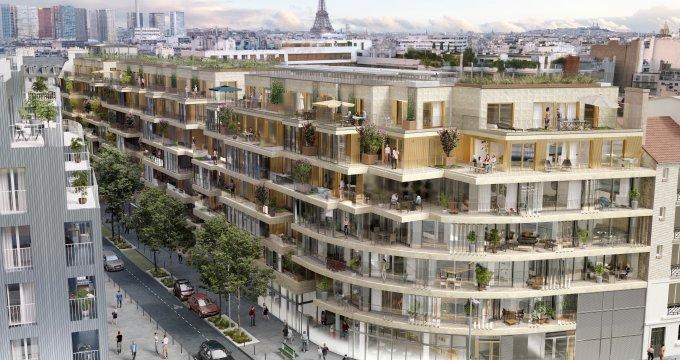 Achat / Vente immobilier neuf Paris 15 à deux pas des commodités (75015) - Réf. 4164