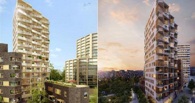 Achat / Vente immobilier neuf Paris 17 quartier Clichy Batignolles (75017) - Réf. 1110