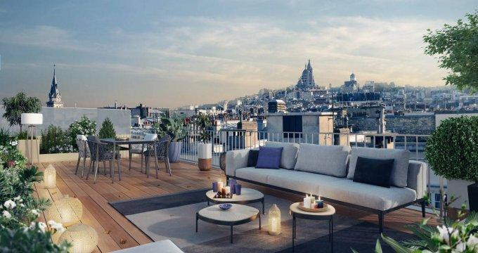 Achat / Vente immobilier neuf Paris 18e au coeur du quartier Jules Joffrin (75018) - Réf. 6340
