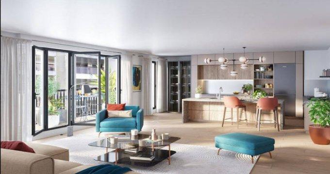 Achat / Vente immobilier neuf Paris 19 au pied du métro 11 (75019) - Réf. 5420
