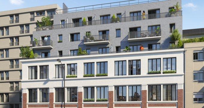 achat immobilier neuf paris 19 autour du parc des buttes chaumont 75019 r f 1175. Black Bedroom Furniture Sets. Home Design Ideas