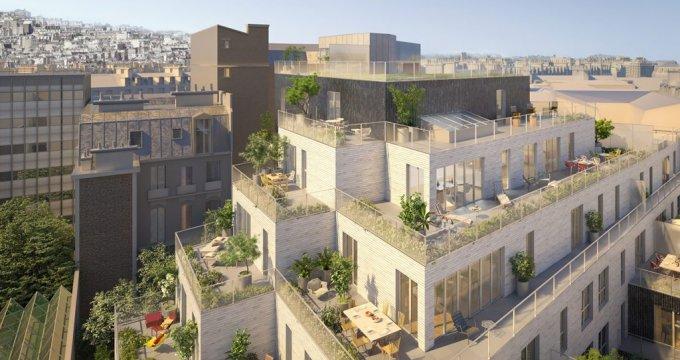 Achat / Vente immobilier neuf Paris proche Montmartre (75018) - Réf. 1706