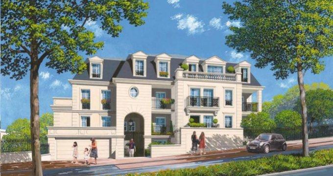 Achat / Vente immobilier neuf Plessis-Robinson proche centre-ville (92350) - Réf. 1943