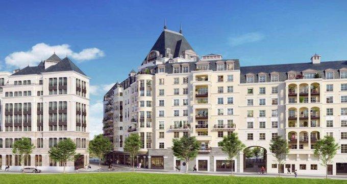 Achat / Vente immobilier neuf Puteaux au cœur du quartier des Bergères (92800) - Réf. 3846