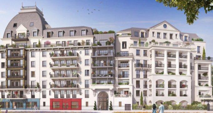 Achat / Vente immobilier neuf Puteaux l'écoquartier des Bergères (92800) - Réf. 3249