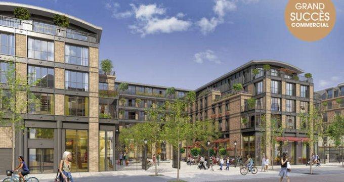 Achat / Vente immobilier neuf Puteaux nouveau quartier en bord de Seine (92800) - Réf. 2015