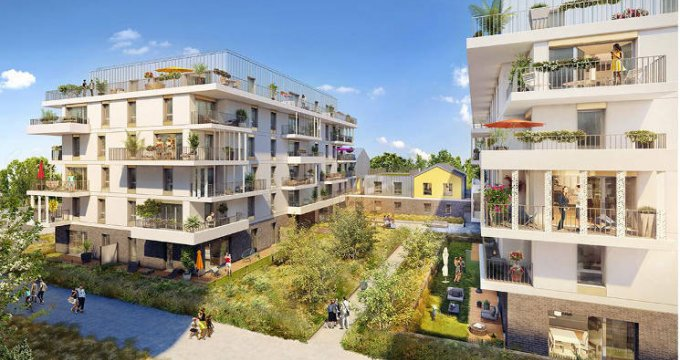 Achat / Vente immobilier neuf Rueil-Malmaison au cœur du quartier Buzenval (92500) - Réf. 3847