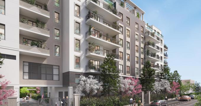 Achat / Vente immobilier neuf Suresnes proche du quartier la Défense (92150) - Réf. 2503