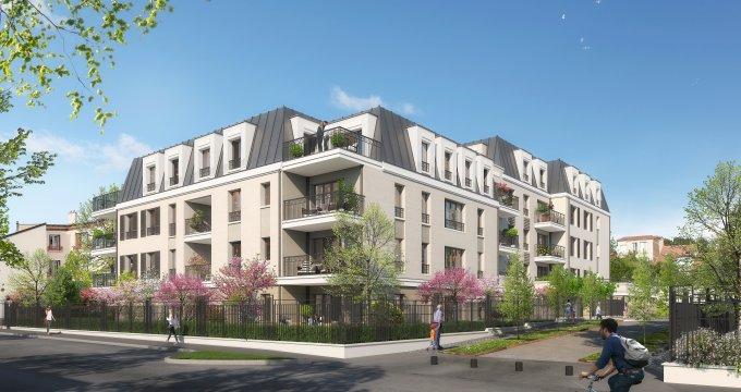 Achat / Vente immobilier neuf Suresnes quartier Parc du Château (92150) - Réf. 2746
