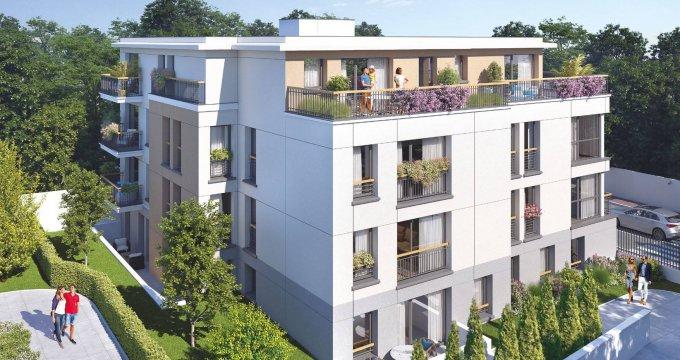 Achat / Vente immobilier neuf Ville-d'Avray proche Transilien L et U (92410) - Réf. 6338