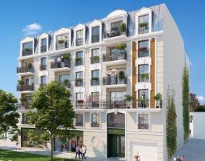 Achat / Vente immobilier neuf Clamart le quartier du petit Clamart (92140) - Réf. 2534