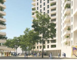 Achat / Vente immobilier neuf Clichy-la-Garenne proche métro 13 et RER C (92110) - Réf. 3610