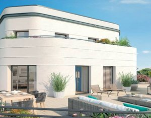 Achat / Vente immobilier neuf Colombes proche Tramway T1 et Transilien J (92700) - Réf. 5701