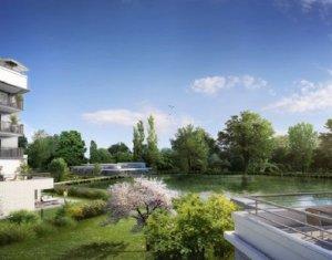 Achat / Vente immobilier neuf Rueil-Malmaison centre-ville face au lac (92500) - Réf. 1634