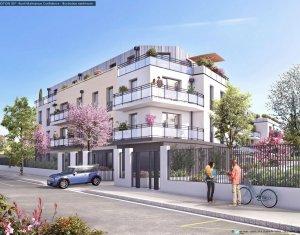 Achat / Vente immobilier neuf Rueil-Malmaison proche forêt domaniale (92500) - Réf. 288