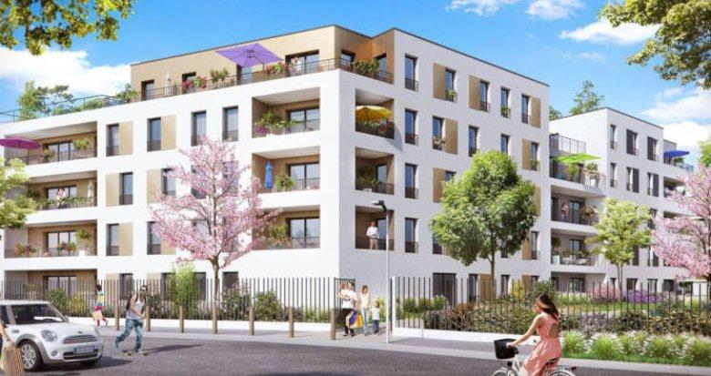 Achat / Vente immobilier neuf Antony proche parc des Sceaux (92160) - Réf. 3835
