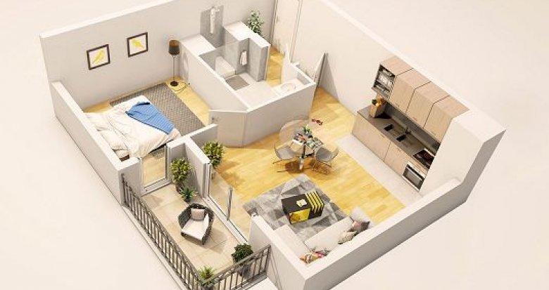 Achat / Vente immobilier neuf Antony proche parc Descartes (92160) - Réf. 1402