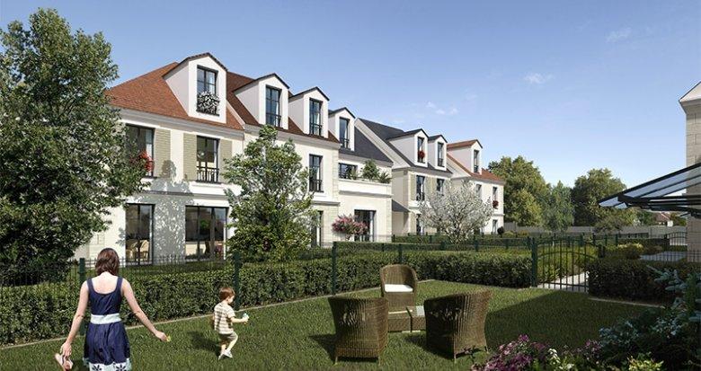Achat / Vente immobilier neuf Antony secteur Bois de Verrières (92160) - Réf. 2976