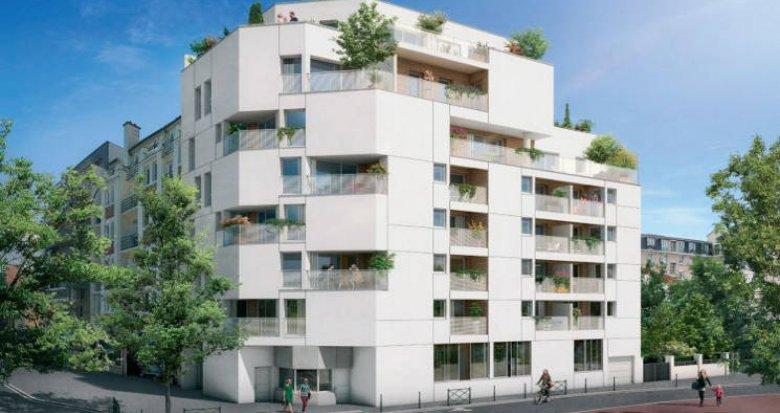Achat / Vente immobilier neuf Asnières-sur-Seine à 150 mètres station de métro « Gabriel Péri » (92600) - Réf. 3555