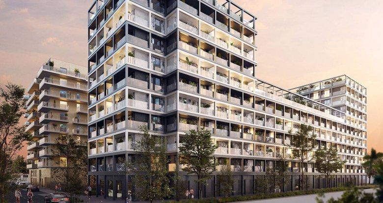 Achat / Vente immobilier neuf Asnières-sur-Seine éco quartier Seine-Ouest (92600) - Réf. 6130