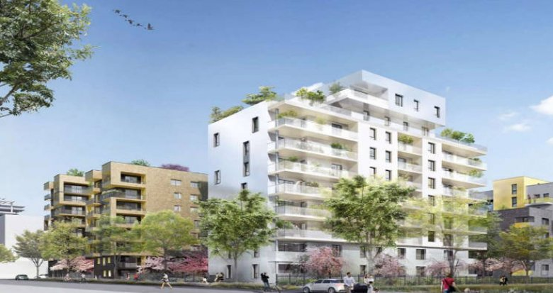 Achat / Vente immobilier neuf Asnières-sur-Seine proche bord de Seine (92600) - Réf. 3554