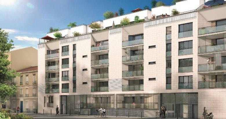 Achat / Vente immobilier neuf Asnières-sur-Seine proche de l'arrêt de métro Gabrierl Péri (92600) - Réf. 2339