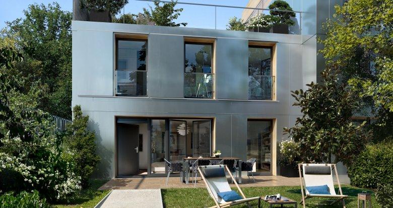 Achat / Vente immobilier neuf Asnières-sur-Seine proche station de métro ligne 13 (92600) - Réf. 3375