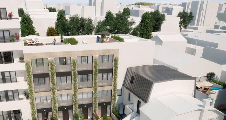 Achat / Vente immobilier neuf Bois-Colombes proche rue des Bourguignons (92270) - Réf. 878