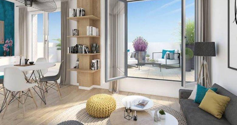 Achat / Vente immobilier neuf Bois-Colombes secteur Pompidou Le Mignon (92270) - Réf. 4744