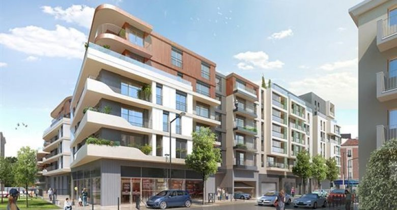 Achat / Vente immobilier neuf Bois-Colomes proche futur tramway T1 (92270) - Réf. 1265