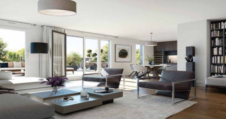 Achat / Vente immobilier neuf Boulogne-Billancourt proche commerces (92100) - Réf. 4618