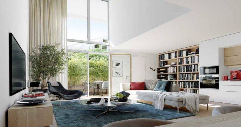 Achat / Vente immobilier neuf Châtenay-Malabry écoquartier proche Parc de Sceaux (92290) - Réf. 5915