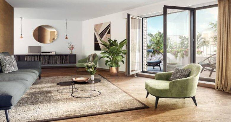 Achat / Vente immobilier neuf Chatenay-Malabry en face du Parc de Sceaux (92290) - Réf. 5751