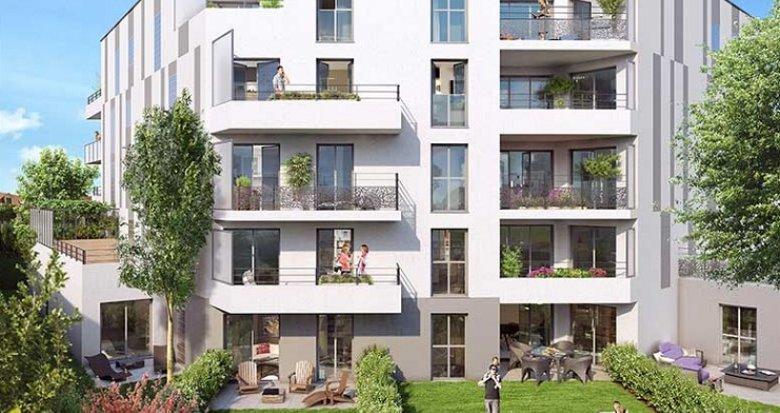 Achat / Vente immobilier neuf Châtenay-Malabry limitrophe parc de Sceaux (92290) - Réf. 2480