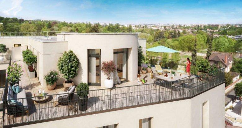 Achat / Vente immobilier neuf Châtenay-Malabry parc de la Vallée aux Loups (92290) - Réf. 6018