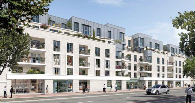 Achat / Vente immobilier neuf Châtenay-Malabry proche centre commercial du parc des Sceaux (92290) - Réf. 2842