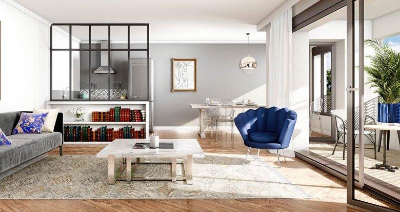 Achat / Vente immobilier neuf Châtenay-Malabry proche centre et parc de Sceaux (92290) - Réf. 3138
