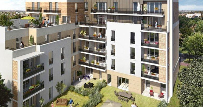 Achat / Vente immobilier neuf Châtenay-Malabry proche centre-ville (92290) - Réf. 150