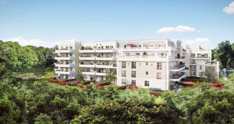 Achat / Vente immobilier neuf Châtenay-Malabry proche future ligne 10 du tramway (92290) - Réf. 5075