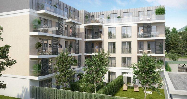 Achat / Vente immobilier neuf Châtenay-Malabry proche Mairie (92290) - Réf. 2545