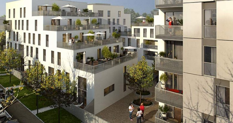 Achat / Vente immobilier neuf Châtenay-Malabry proche Paris (92290) - Réf. 1200