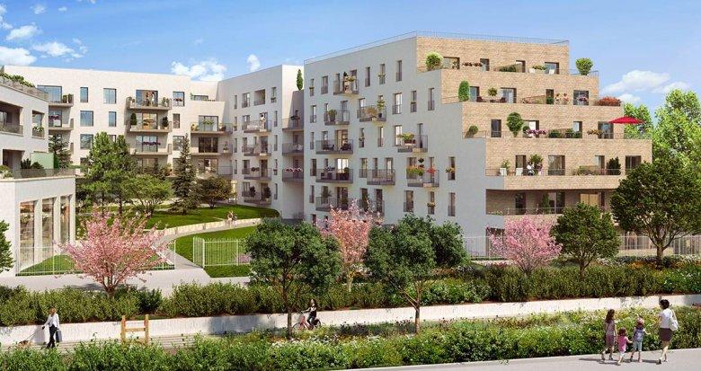 Achat / Vente immobilier neuf Châtenay-Malabry proche RER B (92290) - Réf. 3139