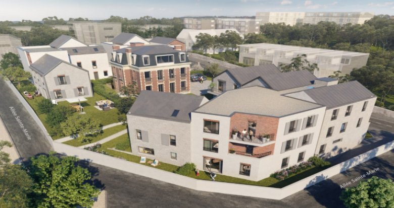 Achat / Vente immobilier neuf Chaville à 500m de la gare Rive Droite (92370) - Réf. 5466