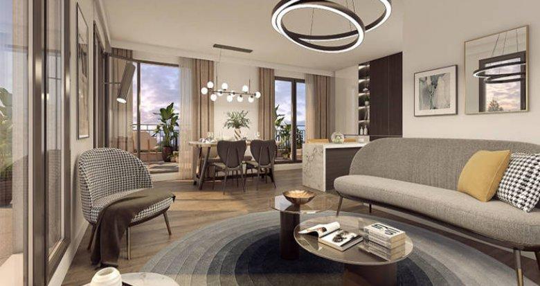 Achat / Vente immobilier neuf Clamart au coeur du quartier Grand Canal (92140) - Réf. 6019