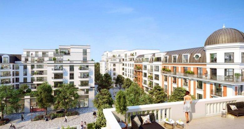 Achat / Vente immobilier neuf Clamart nouveau quartier Grand Canal (92140) - Réf. 2482